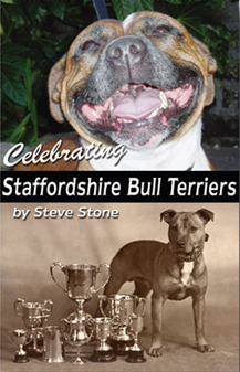 Celebrating Staffordshire Bull Terriers book cover jpg